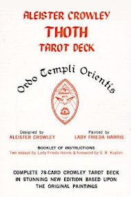 Cover of Aleister Crowley's Book Thoth Tarot Deck