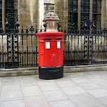 mailbox in downtown london uk in London, London City of, United Kingdom