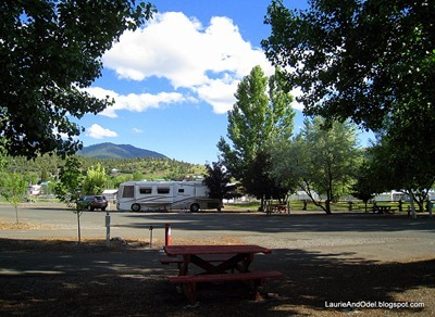 RV park in John Day at the FG