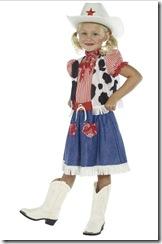Cowgirl Fancy Dress Costume
