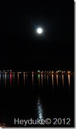 Sparks Marina Lake at  Night