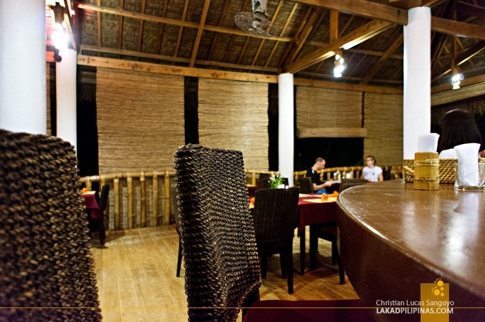 Second Floor Bar at Ocean Vida Restaurant at Malapascua Island