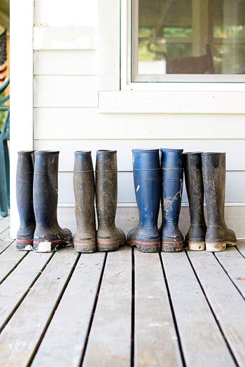 farm boots, rain boots