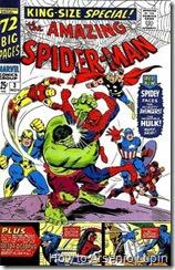 The Amazing Spider-man annual #02, el primer intento de spidey por convertirse en un vengador, pero como siempre y muy a su estilo, echa todo a perder.