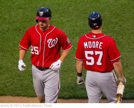 'Adam LaRoche, Tyler Moore' photo (c) 2012, Keith Allison - license: http://creativecommons.org/licenses/by-sa/2.0/