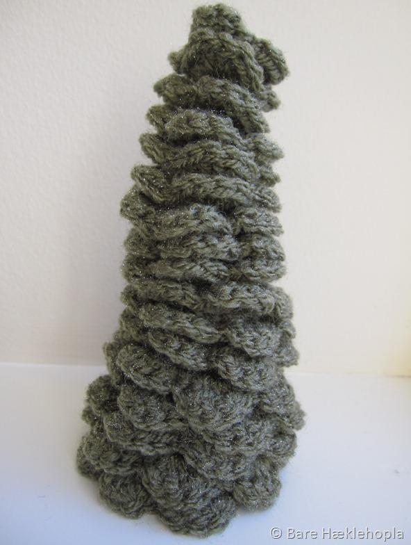 Hæklet juletræ 2011