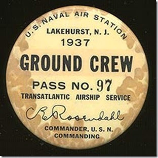 Hindenburg civilian landing crew button