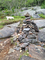 Cairn at Adam's Lookout Photo