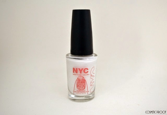 NYC Color Strip Me Off Base Coat Review