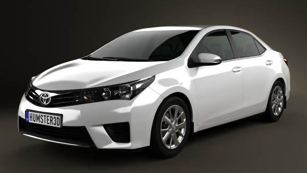 2014 Toyota Corolla Sedanın Yeni Fotoğrafları İnternette Ortaya