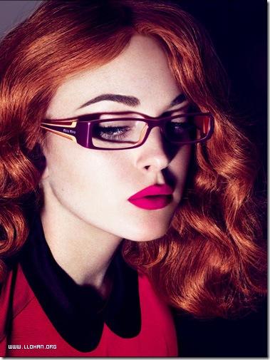 Lindsay Lohan Glasses