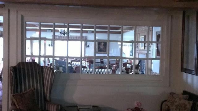 old windows of the Wilcox Inn