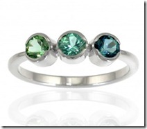 Lilia Nash Tourmaline Trilogy Ring