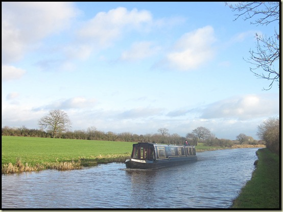 Boating on the Shropshire Union Canal