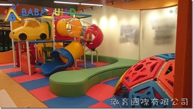BabyBuild 室內3D泡管兒童遊具EVA軟墊施工鋪設