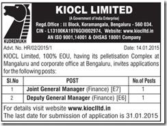 KIOCL Jobs 2015 - IndGovtJobs