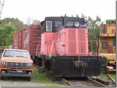 IMG_6445 Centralia-Chehalis Railroad Association Vulcan 45-Tonner on May 12, 2007