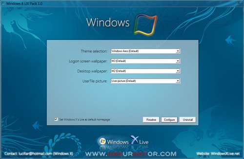 Mengubah Windows 7 Menjadi Windows 8 - Windows 8 UX Pack