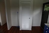 The old pantry and fridge cavity