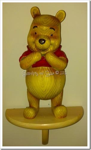 Wooden Pooh Bear