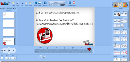 Use Powtoon to allow students to create fabulous video presentations.