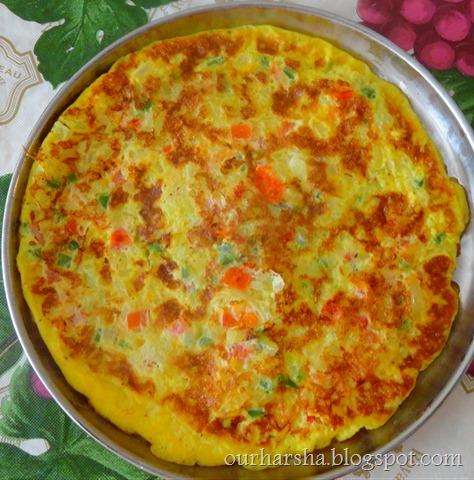 the omelet fully cooked slide the omelette onto a plate and serve warm ...