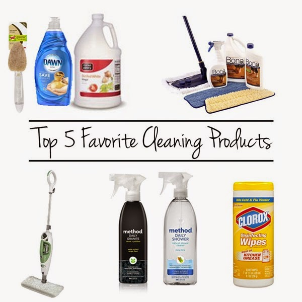 Top 5 Favorite Cleaning Products