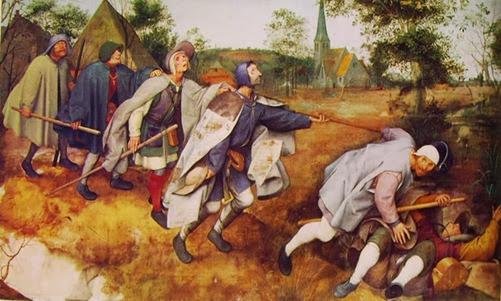 14 Bruegel - La parabola dei ciechi