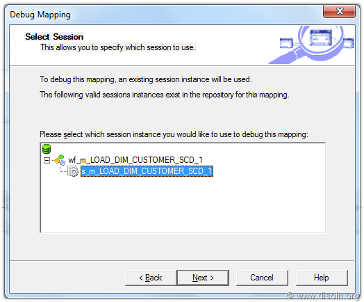 Informatica PowerCenter Mapping Debugger SetUP