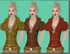 aDiva couture Alissa Shirt