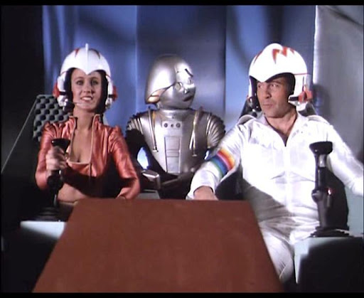 "After the marathon, my family and I ""enjoyed"" a few episodes of the 1979 tv series ""Buck Rogers in the 25th Century."" As Twiki would say, ""Bee-dee bee-dee bee-dee""."