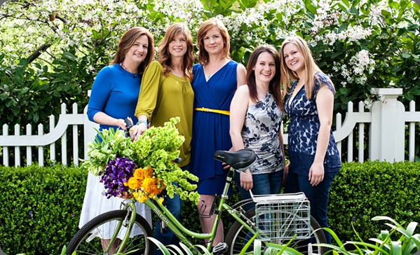 designer all susan and team three sisters flowers