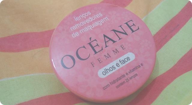 Lenços removedores de maquiagem océane