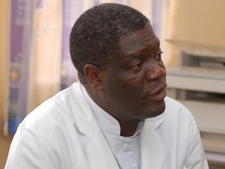 Dr Denis Mukwege, le fondateur de l&#039;hpital Panzi  Bukavu, qui se spcialise dans le traitement des femmes et des filles qui sont victimes de violences sexuelles.
