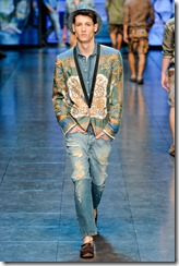 D&G Menswear Spring Summer 2012 Collection Photo 23