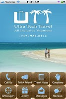 Screenshot of Ultra Tech Travel