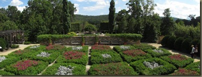 North Carolina Arboretum quilt garden