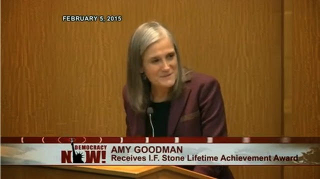 Amy Goodman - IF Stone award