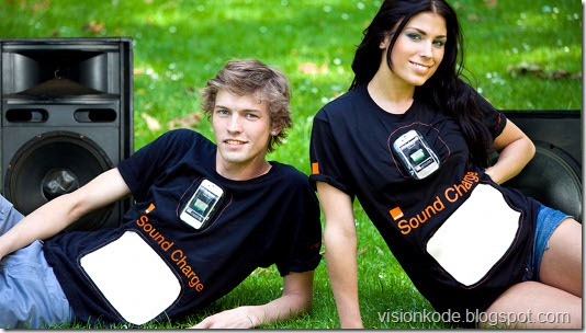 Oranges T-Shirt phone charger