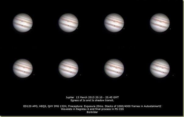 Jupiter 13 March 2013