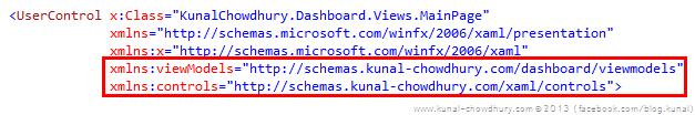 Custom XMLNS Namespaces