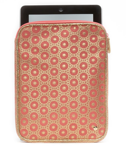 Stephanie Johnson Mumbai Coral iPad case. (stephaniejohnson.com)