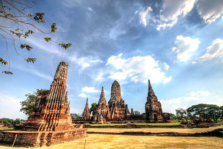 Wat Chai Wattanaram Ayutthaya Thailand 2