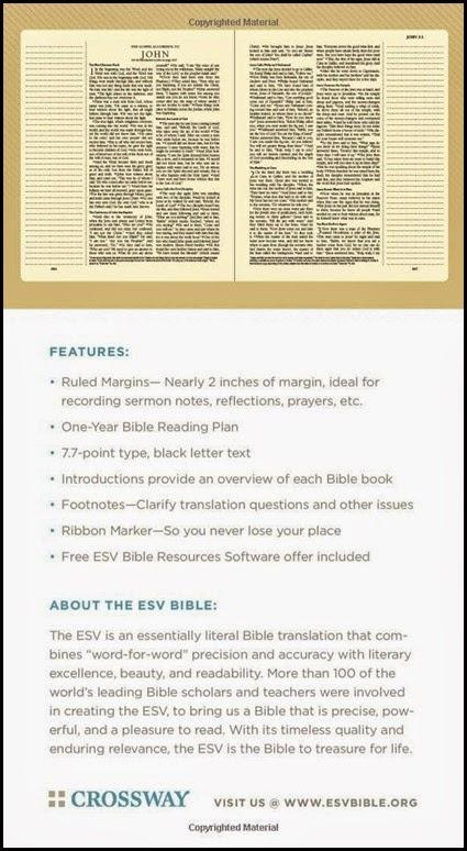Journaling Bible ESV