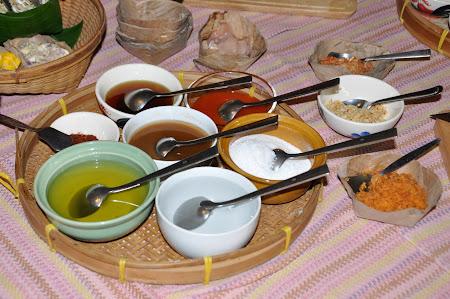 Bucatarie thailandeza: Ingredientele pentru cursul de gatit