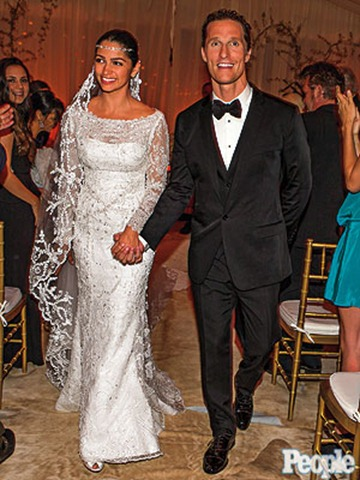 Camila Alves' Wedding Gown