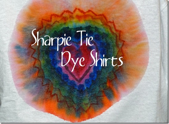 Sharpie Tye Dye Shirt Title