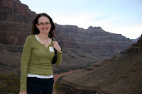 Kristy in the canyon