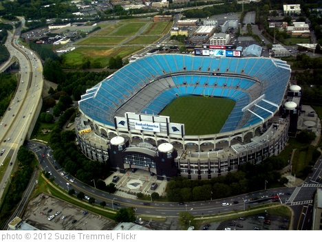 'Carolina Panthers' Stadium and site of the DNC' photo (c) 2012, Suzie Tremmel - license: http://creativecommons.org/licenses/by/2.0/