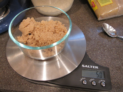 ...then add your ingredients to the precise weight that you need.